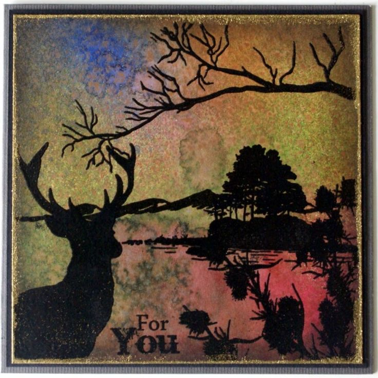 Sheena Douglass – Crafts, Papercrafting, Stamps, Create & Craft » HIGHLAND SILHOUETTE AND SILHOUETTE GRASSES