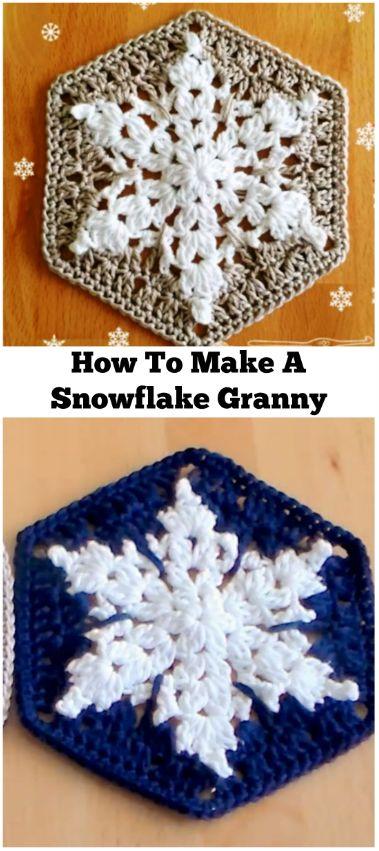 Snowflake Granny