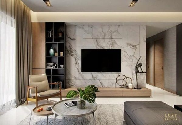 Tv Handy Mit Weissen Marmor Living Room Tv Wall Living Room Tv Luxury Living Room