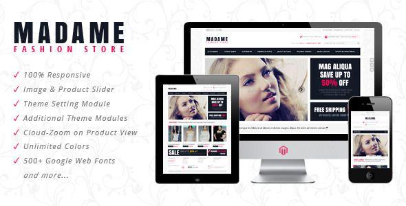 Madame Responsive Prestashop Theme Download link: Madame Responsive Prestashop Theme