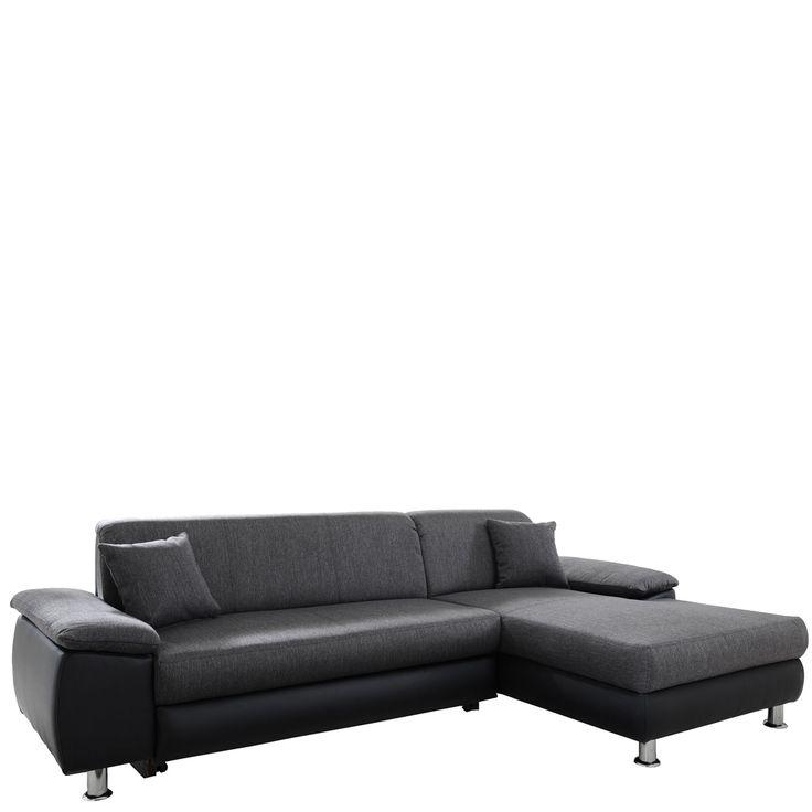 ecksofa maui mit schlafsofa whlbar sofa schwarz grau jetzt bestellen unter https - Doc Sofa Etagenbett Kaufen