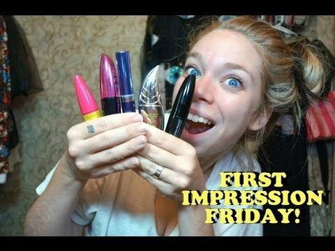 DRUGSTORE MASCARA SHOWDOWN- FIRST IMPRESSION FRIDAY