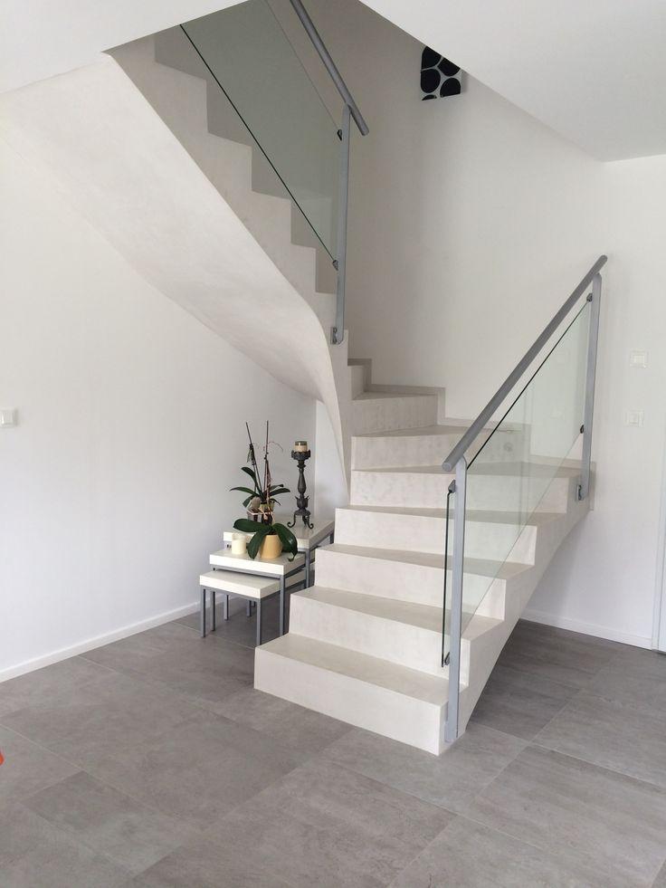 """Résultat de recherche d'images pour """"escalier interieur beton"""""""