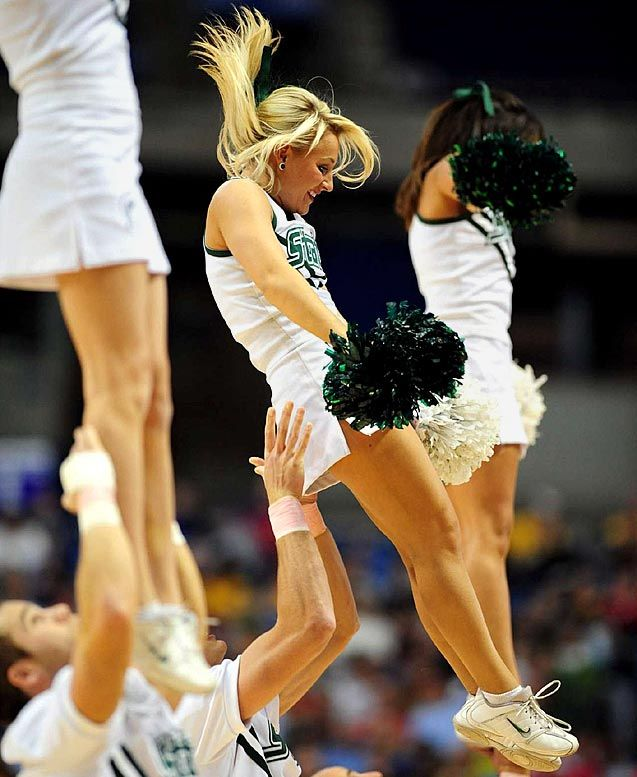 Possible tell, Michigan state spartans cheerleaders