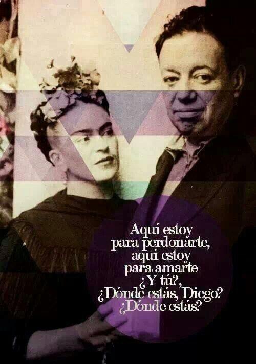 Frida y Diego.