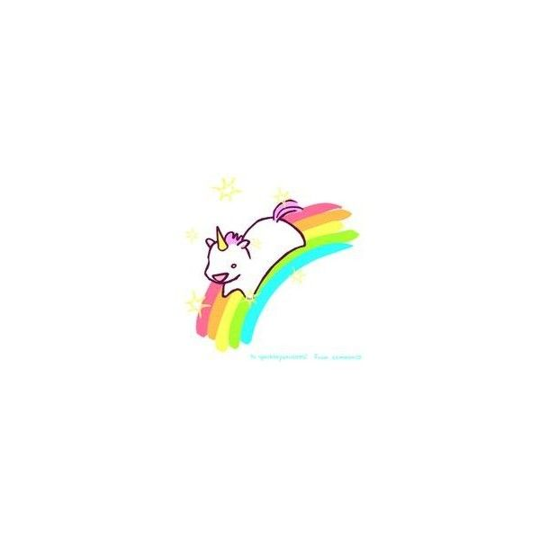 Cute Unicorn ❤ liked on Polyvore featuring fillers, unicorn, doodle and scribble