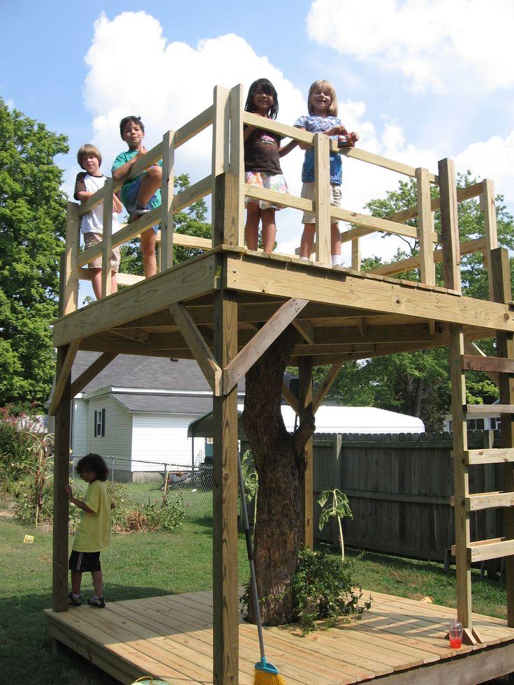 29 best tree house ideas images on pinterest | backyard
