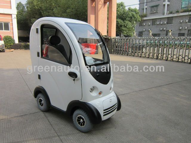 Image Gallery Enclosed Scooter
