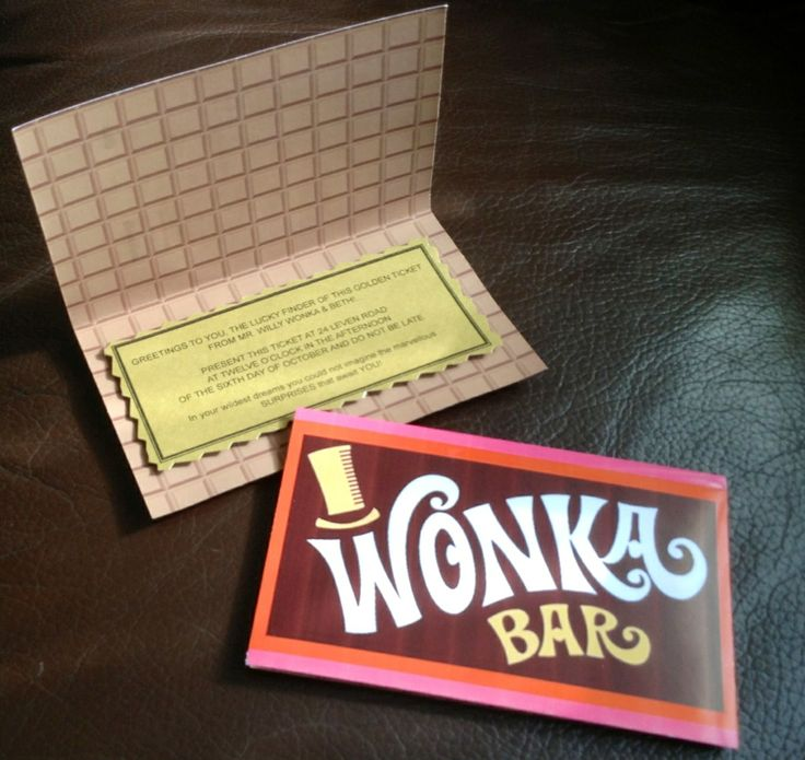 41 best Willy Wonka Party Ideas images on Pinterest | Willy wonka ...