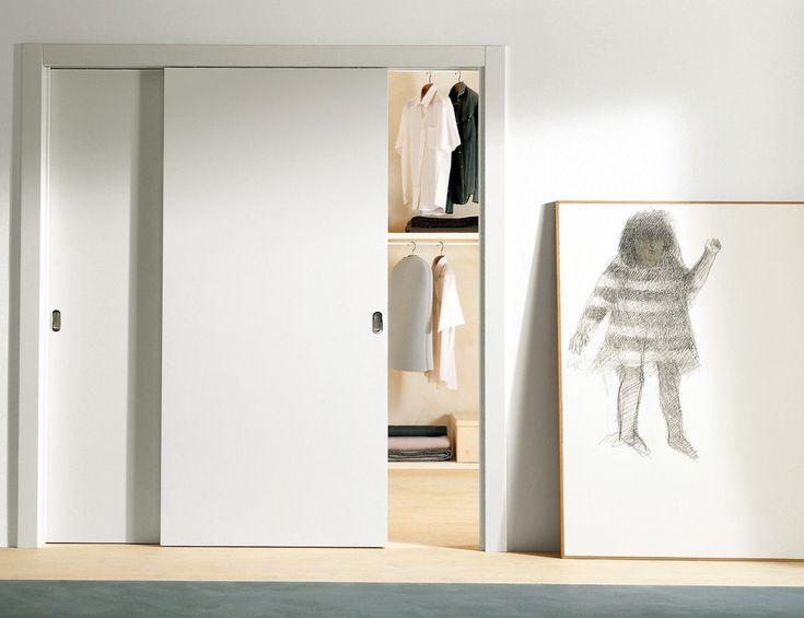 Flat Panel Sliding Closet Doors