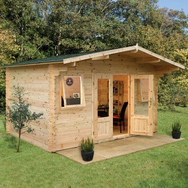 Garden Sheds 3m X 4m hartwood 4m x 4m moreton log cabin - http://www.sheds.co.uk/log