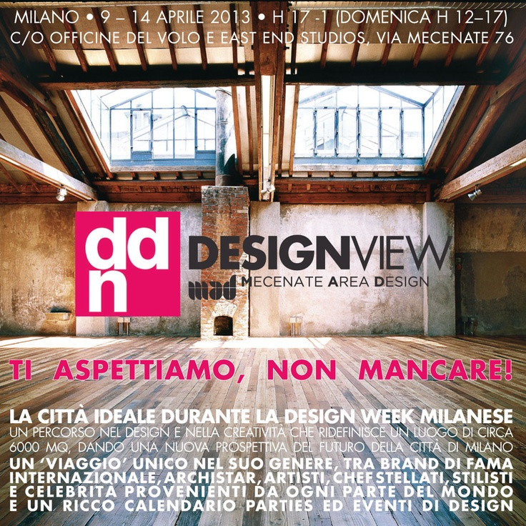 iDesignMe_fuorisalone_ddN http://idesignme.eu/2013/03/a-new-way-to-live-the-fuorisalone-experience/ #design #fuorisalone #milan #event #location