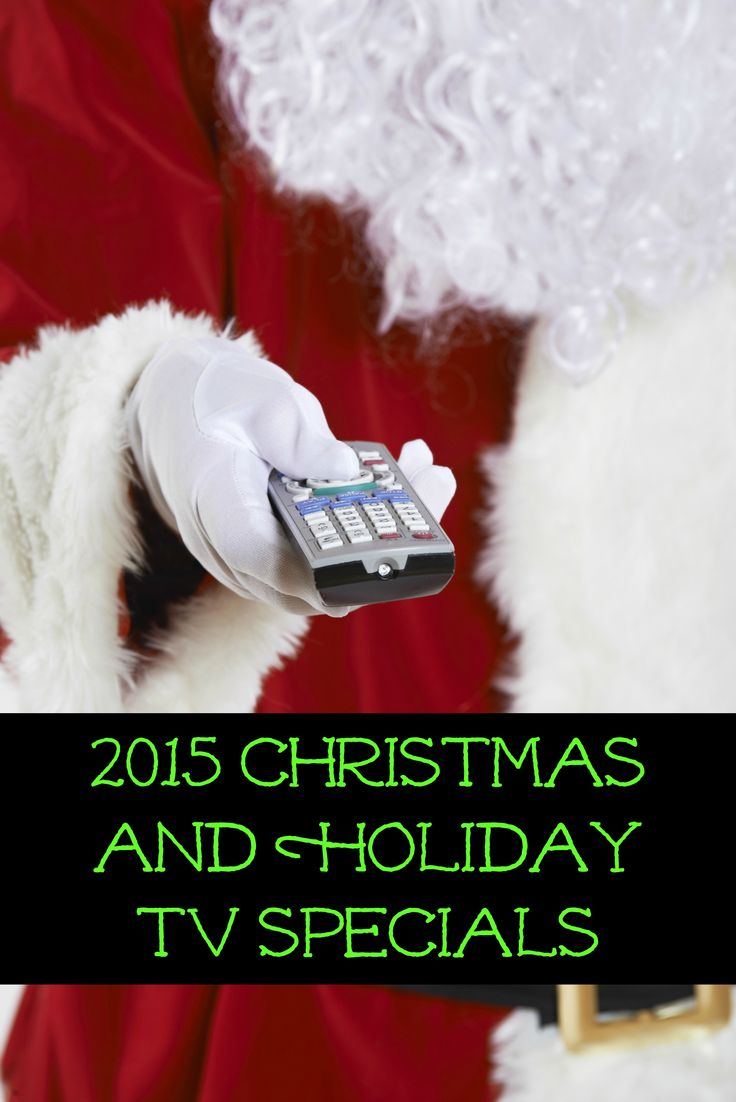 Looking for some fun Thanksgiving and Christmas TV specials for the whole family? We've rounded up the 2015 holiday TV specials that you won't want to miss. Check out the list below! All times shown are on Eastern Standard Time. Please adjust accordingly for other time zones and confirm with your locallistings as programming can …