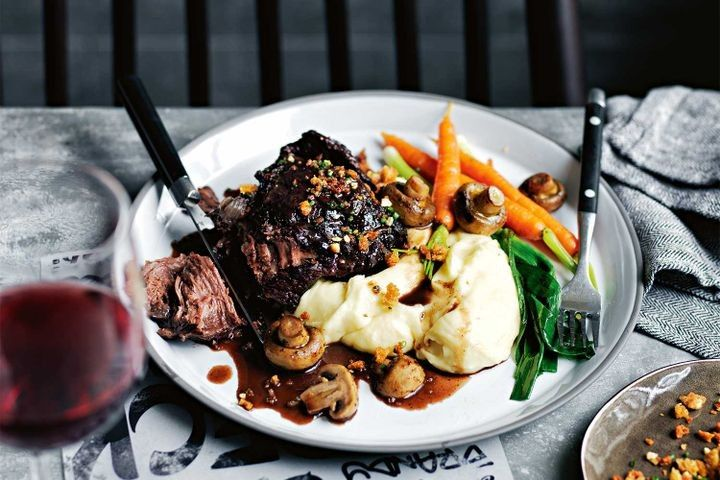Wind down, pour a glass of pinot and slow cook your way through Sunday afternoon.