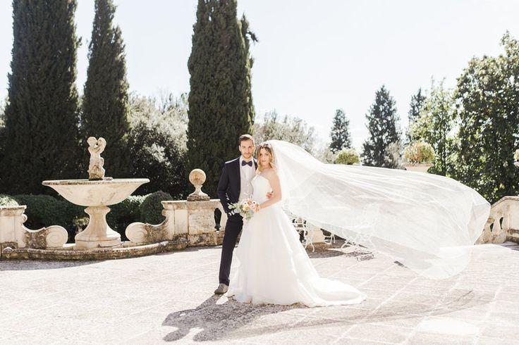 The Veil Option | Classic Black Tie Wedding in Perugia | Daniel&Valentina Photography
