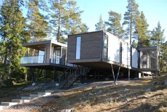 Myynnissä - Omakotitalo, Västerrösund, Tammisaari:   #moderni #arkkitehtuuri #oikotieasunnot