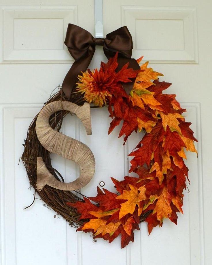 Diy Monogram Fall Wreath: 13 Best Images About Halloween Hobby Lobby On Pinterest