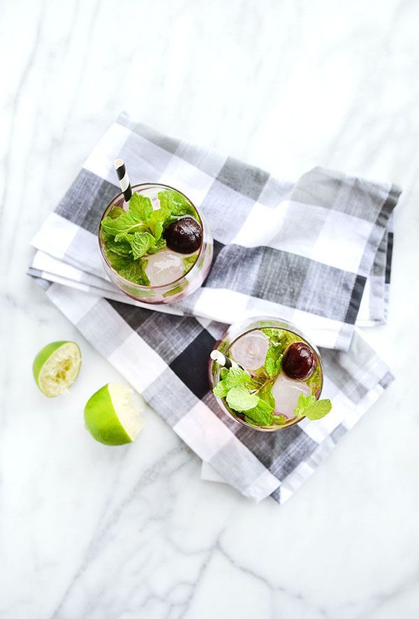 Cherry Mint Mojitos: 3 Simple, Colorful Cocktail Recipes for Last ...