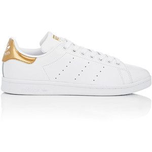 Adidas Женские Женские Стэн Смит кожаные кроссовки