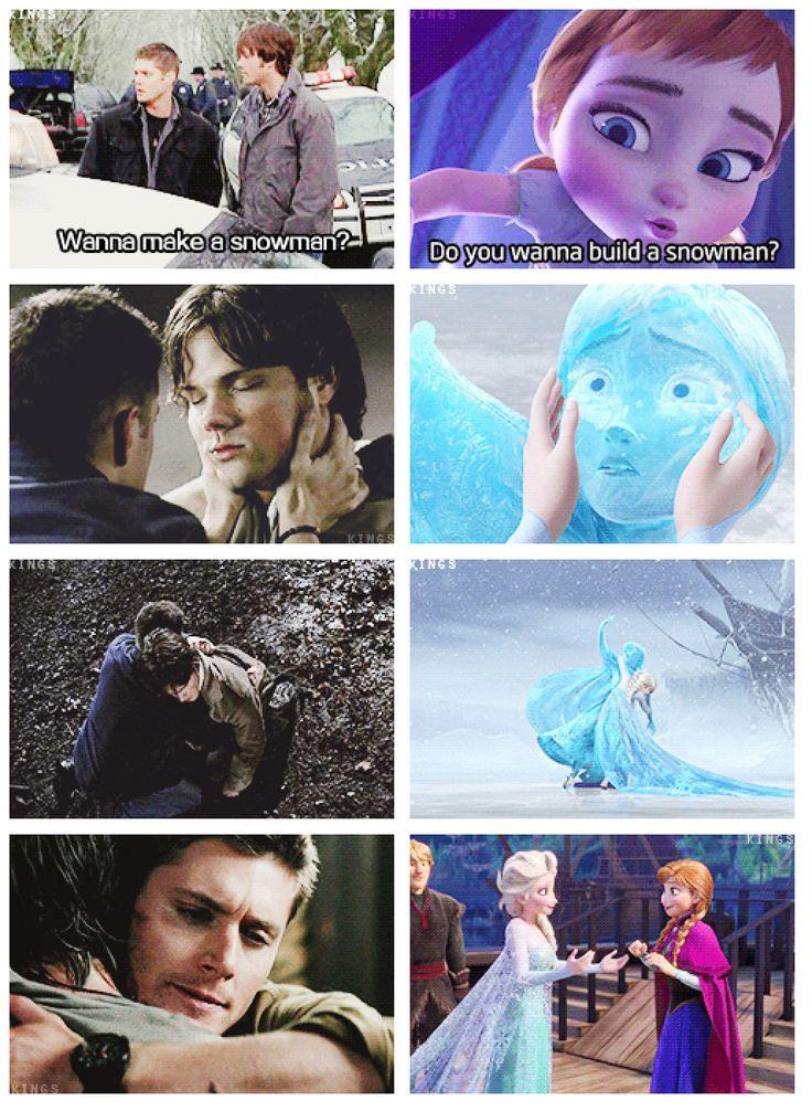Supernatural/Disney