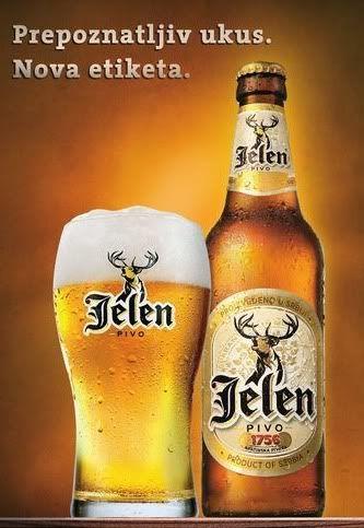 Serbian Beer Deer!(Jelen)