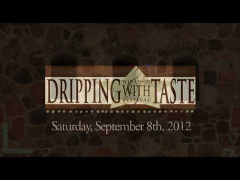 The Dripping Springs Chamber of CVB is pleased to present the 5th Annual Dripping with Taste Wine & Food Festival on Saturday, Sept 8, 2012, on the grounds of the breathtaking Texas Hill Country Olive Company Tasting Room & Orchard in Dripping Springs, TX. This is the first time the DWT event has been held at this beautiful venue.  It is absolutely the perfect location to showcase our local wineries, restaurants, chefs, caterers, artisans, & musicians!