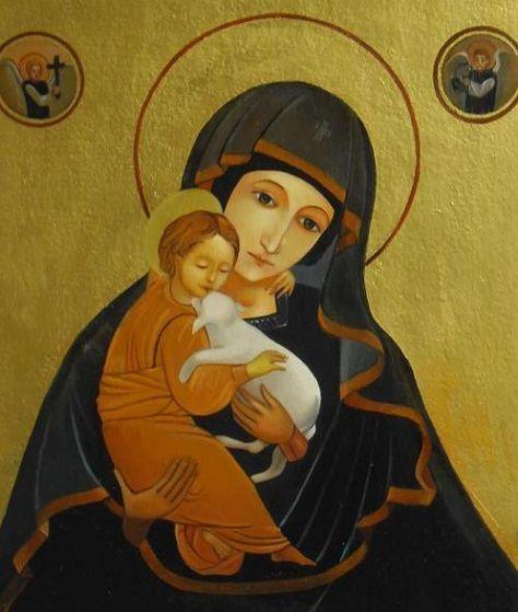igen ez kép mindent elmond Jézusról és Szűz Máriáról
