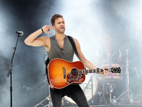andy brown lawson | Andy Brown from Lawson onstage at the Capital FM Summertime Ball at ...