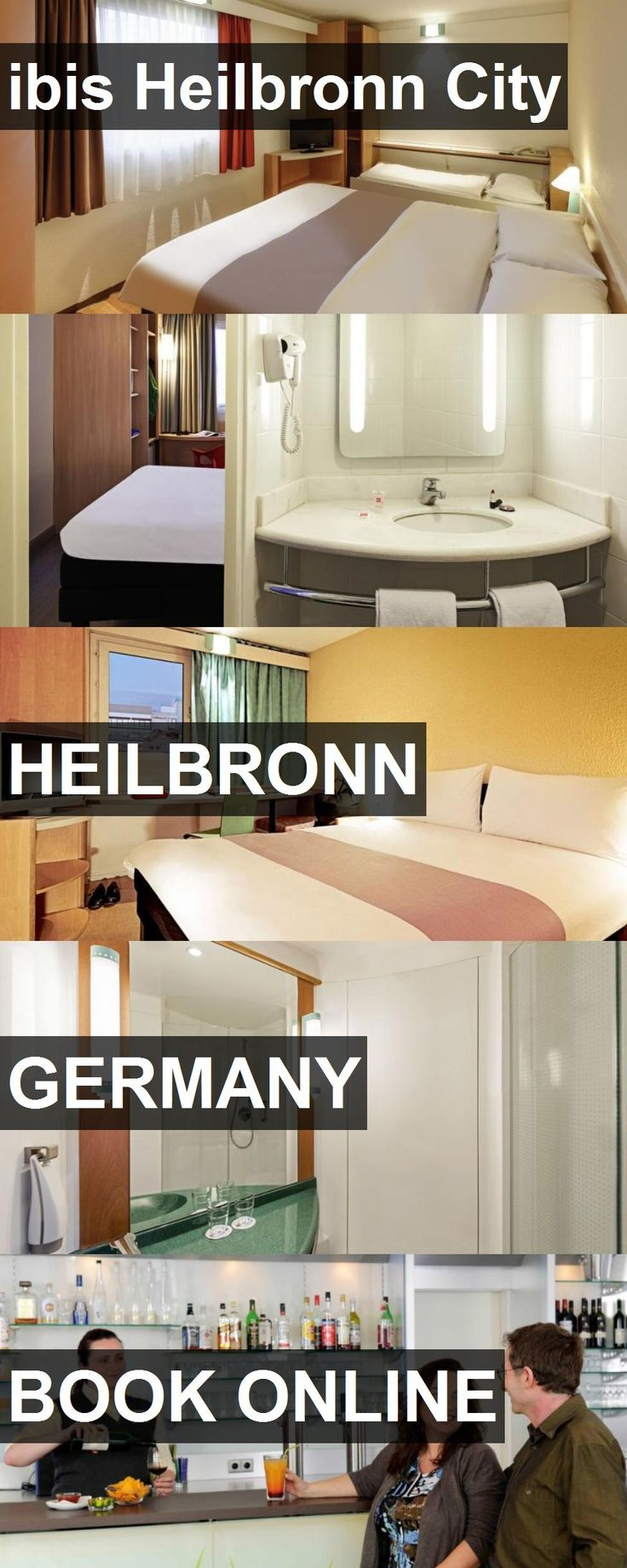 Hotel ibis Heilbronn City in Heilbronn, Germany. For more information, photos, reviews and best prices please follow the link. #Germany #Heilbronn #hotel #travel #vacation