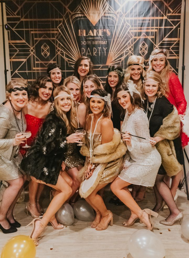 How to Throw a Great Gatsby Themed Party