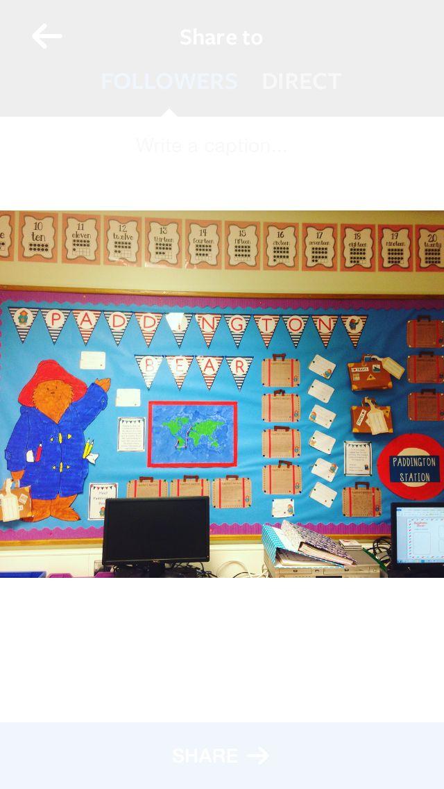 Paddington Bear display