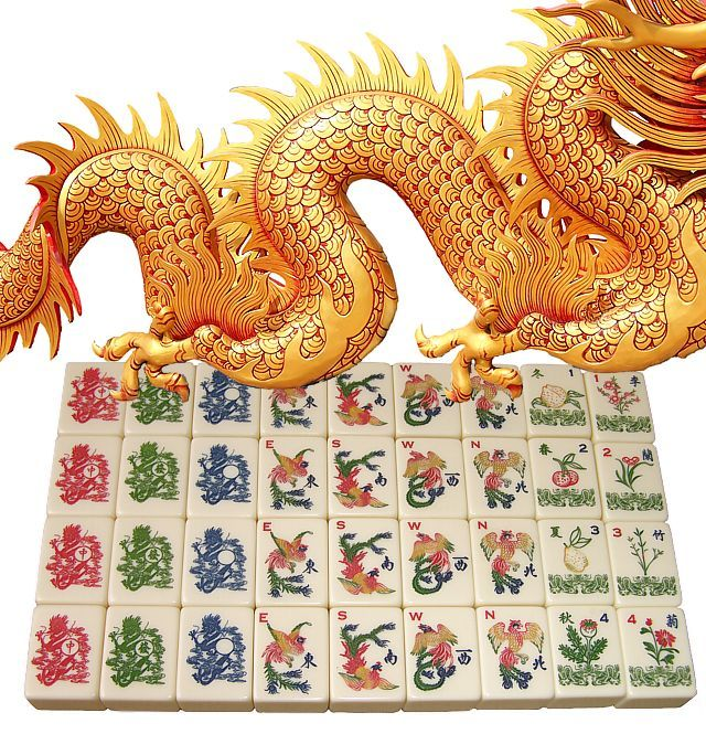 Red Dragon Tile : Best images about mah jongg on pinterest chef apron