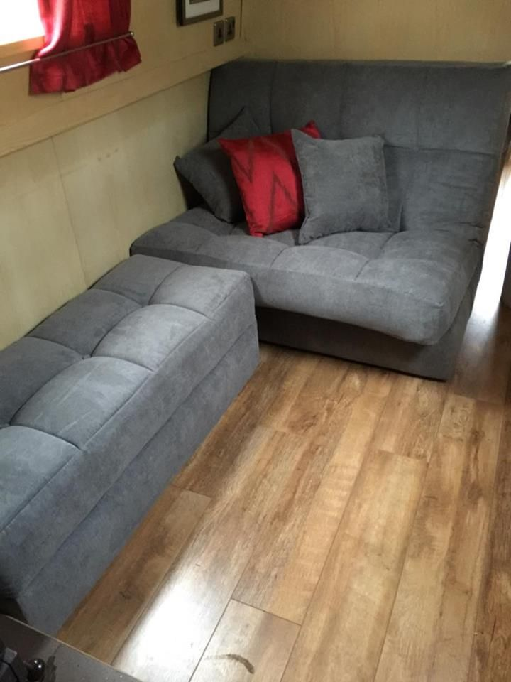 1000 Images About Narrowboat Sofa Beds On Pinterest