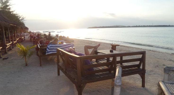 €20 Saeri Matahari Bungalow in Gili Air ligt in de regio Lombok, op 5 km van Gili Trawangan.