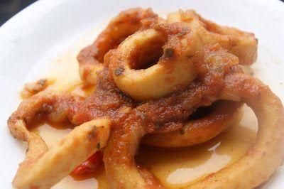 SOLO RECETAS DUKAN: Calamares Dukan