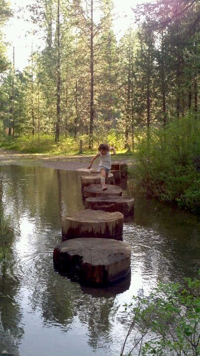Shevlin Park, Bend, OR - we did a field trip here when I was in second grade