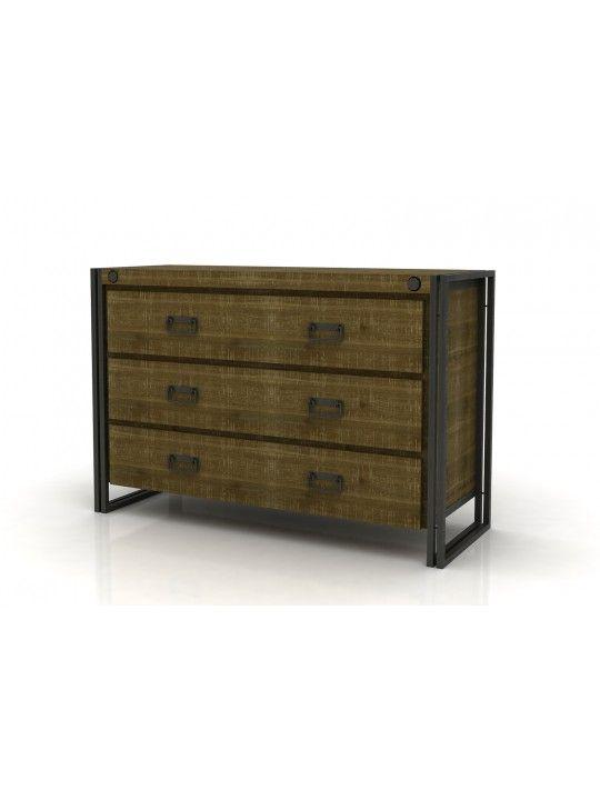 Brooklyn Dresser in Dark Brown by Moe's Home
