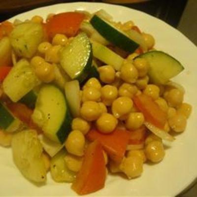 Chickpea Salad: Chickpeas Salad Recipes, Chickpea Salad Recipes, Red Wine, Tomatoes Salad, Balsamic Vinegar, Chickpea Chickpeas, Beans Salad, Pretzels Desserts, Popular Pin
