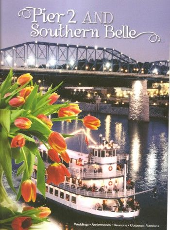 2012 Southern Belle Wedding Packages equipped with river boat