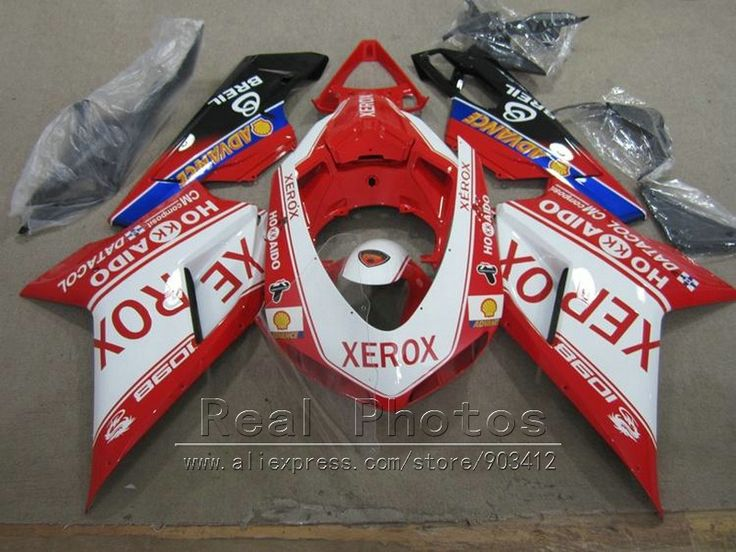 344.10$  Know more - http://ai55u.worlditems.win/all/product.php?id=32771146052 - Aftermarket body parts fairing kit for Ducati 848 1098 1198 07 08 09 10 11 red sticker white fairings 848 1198 2007-2011 AS35