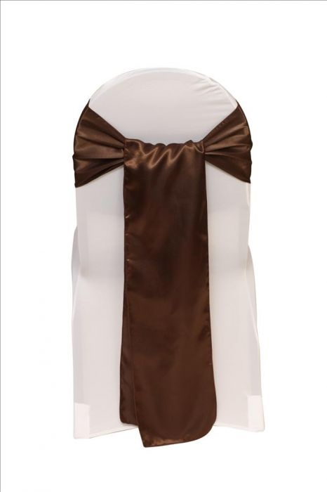Satin Sash Brown