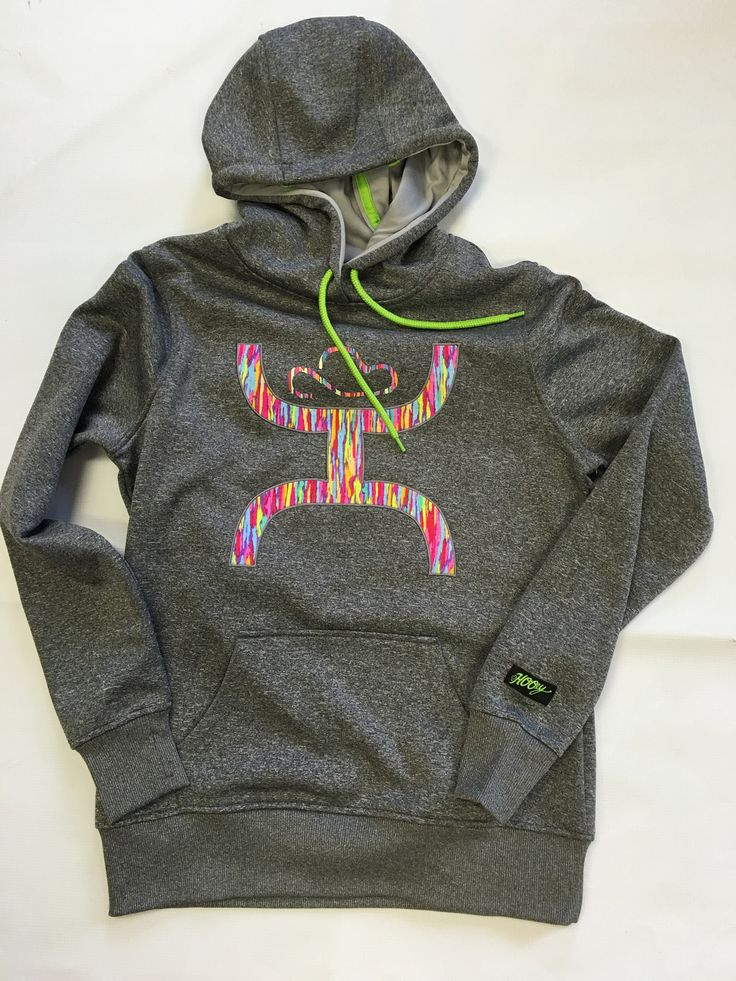 Hooey Multi-Colored Hoodie