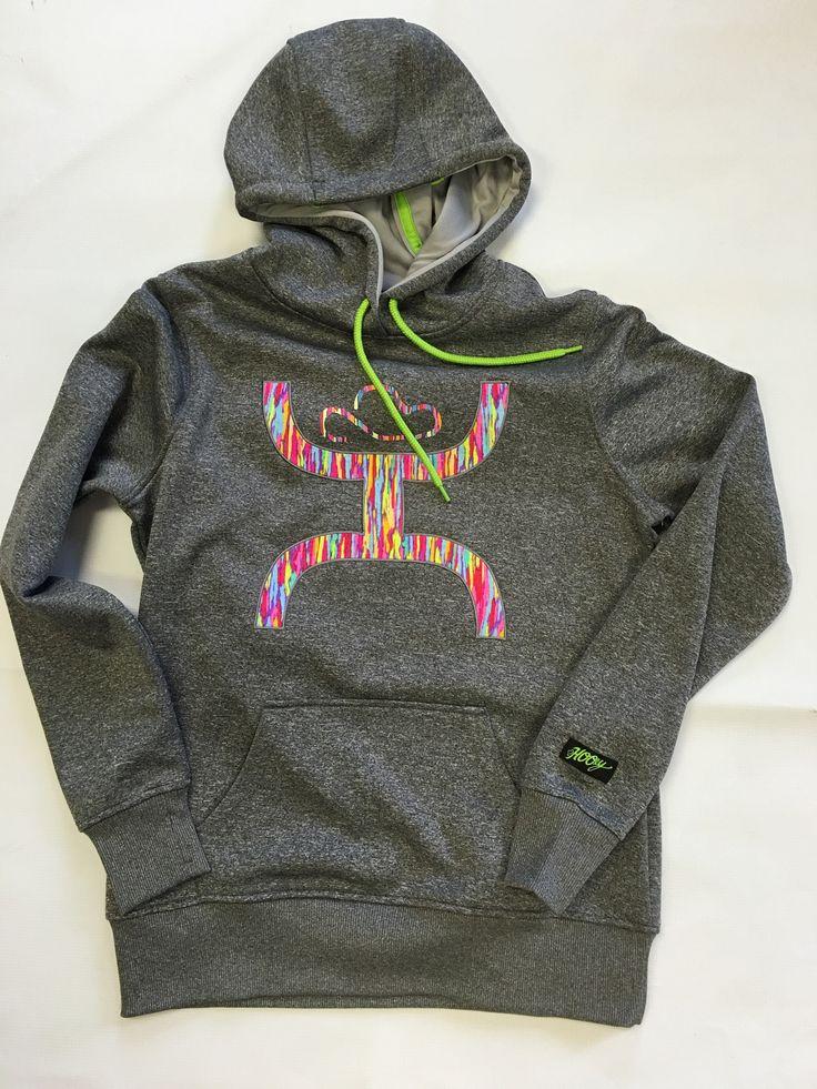 Hooey Multi-Colored Hoodie