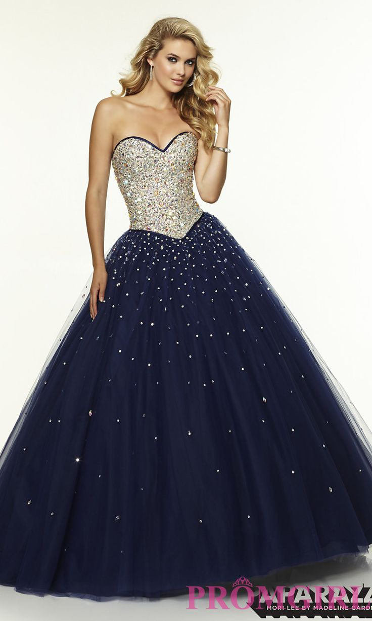 Prom Dresses, Plus Size Dresses, Prom Shoes: Strapless Sweetheart Mori Lee Ball Gown  http://www.promgirl.com/shop/viewitem-PD1325375