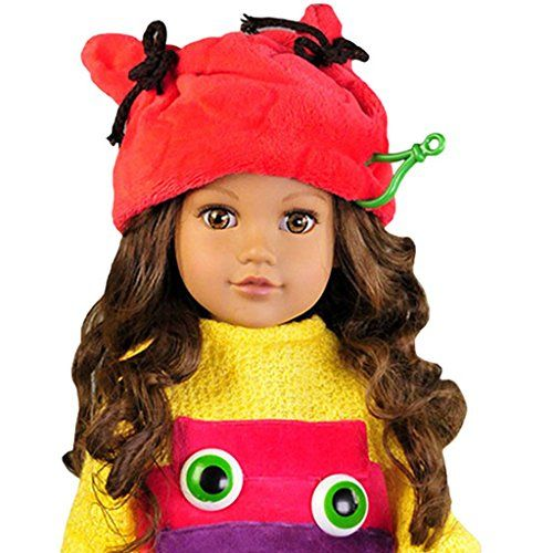 American Girl Doll Hat - Christmas Elf Hat Fit 18 Inch Dolls and Journey Girl Dolls @ niftywarehouse.com