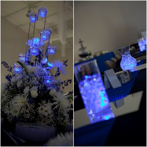 Flowers And Floating Candle Centerpieces With Led Lighting: Best 25+ Led Centerpieces Ideas On Pinterest