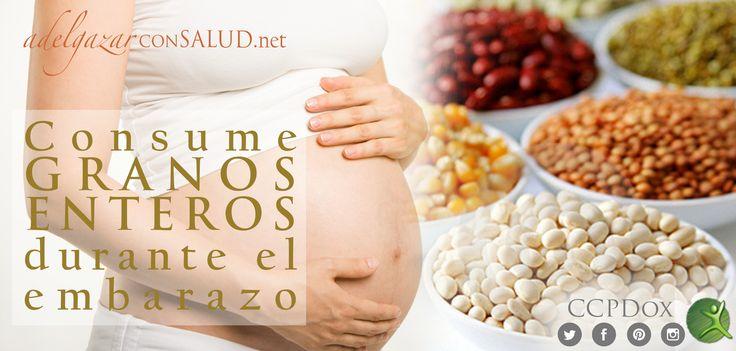 El consumo de los #granos enteros es muy importante para las mujeres embarazadas, ya que aportan muy buena cantidad de ácido fólico, un compuesto indispensable para el organismo y especialmente en época de gestación, ya que previene defectos del tubo neural durante el desarrollo del feto. #TipsDox #adelgazar #adelgazarconsalud #salud #alimentacion #nutricion #ccpdox #dieta #tips #consejos #embarazo