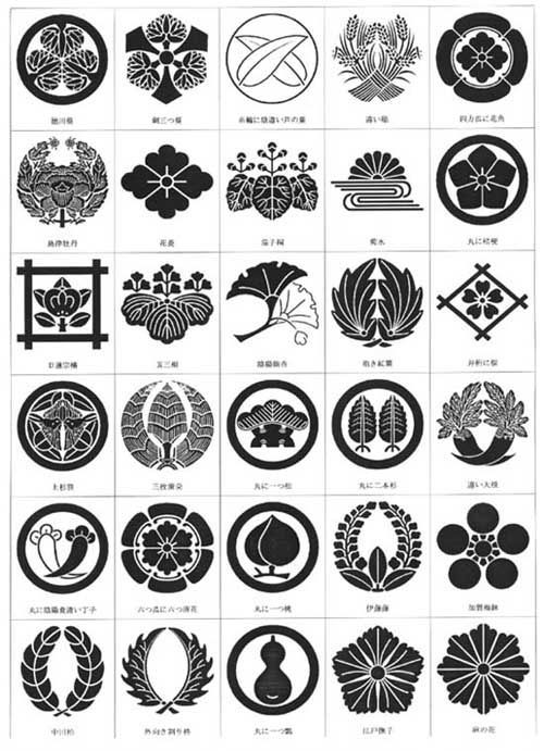 Kamon (Japanese family crests)