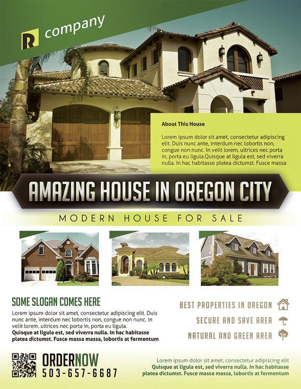 Real Estate Property Flyer Template Vandelay Design Vandelay - Property flyer template