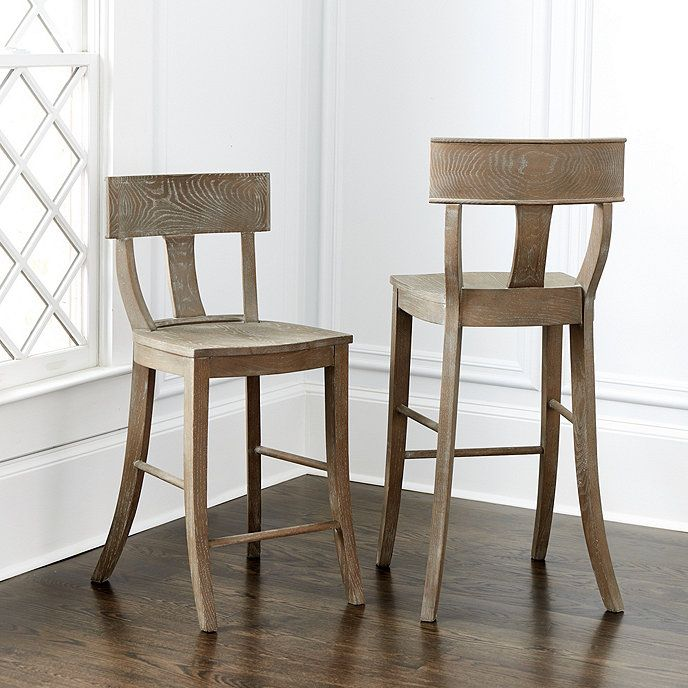 Callia Klismos Stools Rustic Bar Stools Furniture Bar Furniture For Sale